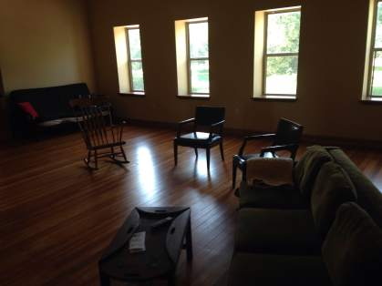Smooth hardwood floors with tons of sunlight flooding the DZ Loft.
