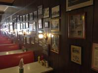 The walls, at Lu & Al's, are peppered with historic photos of Shenandoah and SW-Iowa.