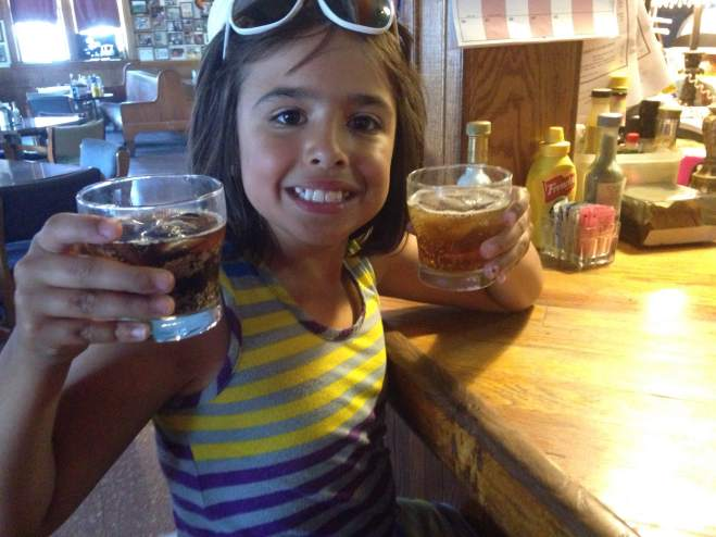 1 Root Beer and 1 Cream Soda. Both crafted right at The Depot!