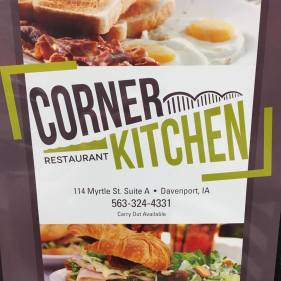 Corner Kitchen 114 Myrtle Street, Davenport, IA
