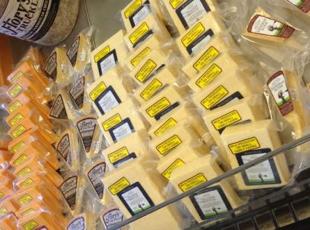 Endless Cheese at Milton Creamery!