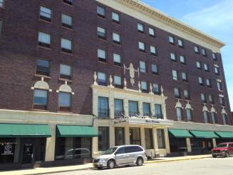 Located in downtown, the family operated Hotel Ottumwa has been lodging Wapello County's visitors for decades.