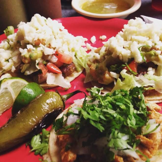 Tacos at Mimi's Taqueria!