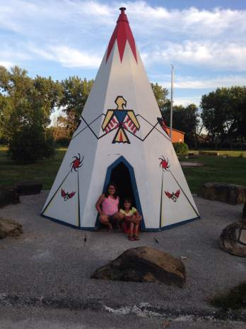 In one of Ottumwa's amazing parks