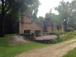 The Hurstville Lime Kilns appear to be relics of a Jackson County castle. Team Goodvin explores one of Iowa's ghost towns.