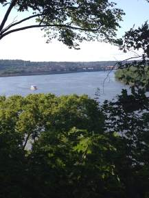 Dubuque bluffs.