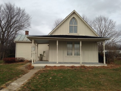 We Did And Our First Stop Was In Eldon Home To The Historic American Gothic House