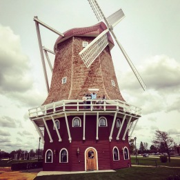 Dutch windmill in Orange City