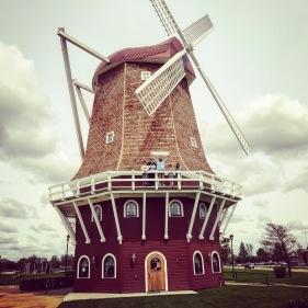 Dutch windmill in Orange City