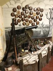 WWI German machine gun.