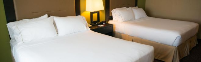 Photo from Holiday Inn Express-Northwood Website