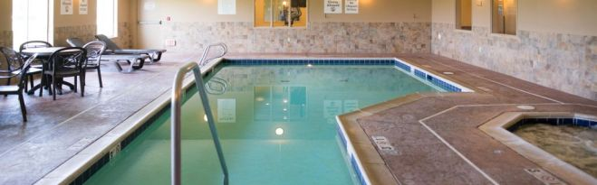 Photo from Holiday Inn Express-Northwood website.