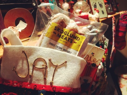 Stocking stuffers from Skoglund Meat in West Bend, Iowa