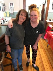 Owner and the chef at Bean & Bistro in Northwood, Iowa