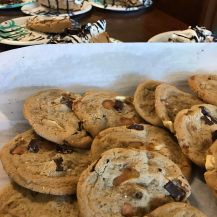 Delicious baked goods at the Bean Bistro in Northwood, Iowa