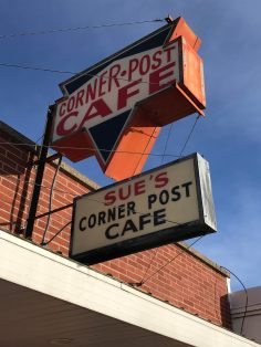 Corner Post Cafe in Northwood, Iowa
