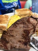 Ribeye Steak and eggs-Hungry Bear in Burlington, Iowa