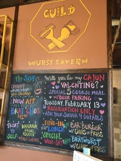 Guild Wurst Tavern