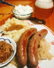 Traditional Bratwurst From Marks Locker-Rowley, Iowa