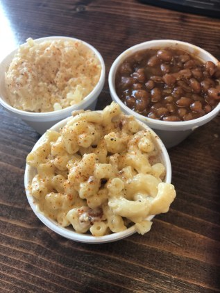 Incredible sides at Moo's BBQ in Newton, Iowa