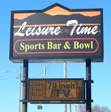 Picture from Leisure Time Sports Bar & Bowl Facebook page.